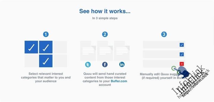 Quuu Инструмент автоматизации социальных медиа
