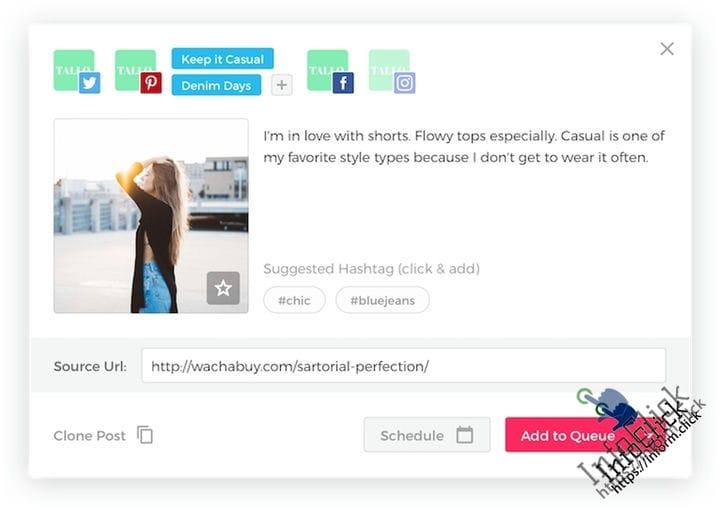ViralTag - инструмент для автоматизации социальных сетей для Pinterest